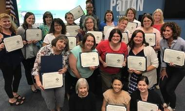 Workforce innovations and professional development teams shine zero to three awards its first trainer certifications critical competencies malvernweather Image collections