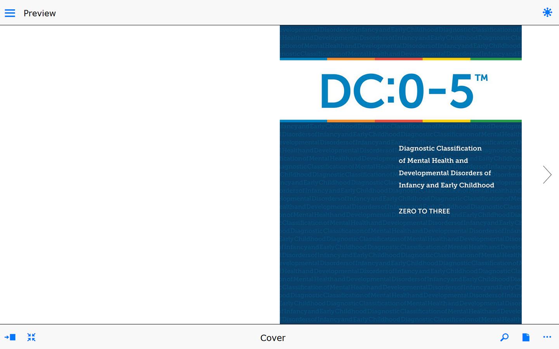 Sneak a Peek of the DC:0–5™ Manual