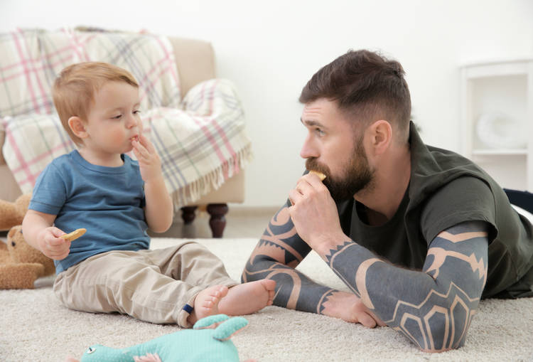 Young Children at Home during the COVID-19 Outbreak: The Importance of Self-Care