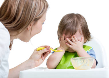 how to handle picky eaters zero to three